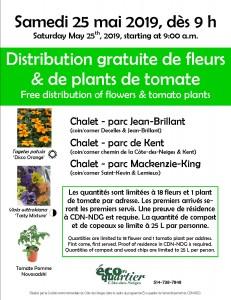 Affiche distr fleurs citoyens CDN 2019_3parcs